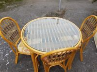 Nice table and chair, Free Delivery.
