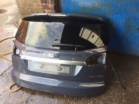 Ford S/max Titanium X Sport 2014 Tailgate Bootlid Without Spoiler Breaking