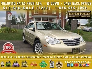 2010 Chrysler Sebring Touring-$49/Wk-LowKms-PricedToSell-AUX/CD/