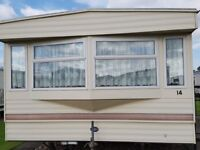 ABI CAMBRIA 35 X 12 - 2 BEDROOMS STATIC CARAVAN IN INGOLDMELLS - DOUBLE GLAZED CENTRAL HEATED