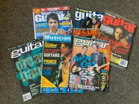 20 GUITAR MAGAZINES , Guitar and bass, Guitar for the practicing musician, Guitar techniques etc