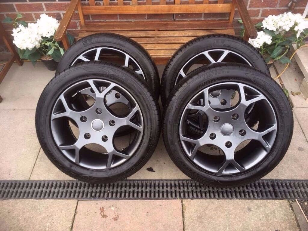 Ford transit st alloy wheels & tyres £650