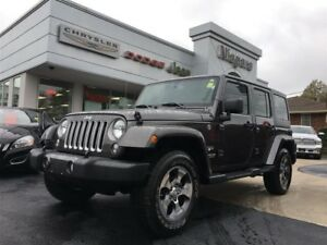 2017 Jeep WRANGLER UNLIMITED SAHARA,NAV,REMOTE START
