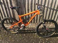Banshee scythe downhill bike