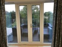 French patio doors and 2 x windows