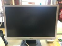 """Blue H 22"""" / 56cm LCD Monitor w/power cable £25"""