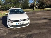 VOLKSWAGEN POLO 1.2 MATCH EDITION 3d 59 BHP Warranty available/rec (white) 2014