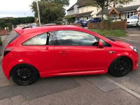 Corsa VXR 1.6 turbo 2007 flame red
