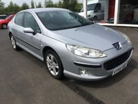 (54) Peugeot 407 2.0 , mot-October 2018 , service history , 3 owners,passat,accord,vectra,mondeo,c5