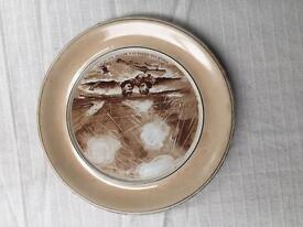 Antique Commemorative WW1 1917 Staffordshire Plate Exactly 100 Years Old Great Condition
