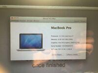 MacBook Pro Mid 2011, QuadCore i7, 2.2, 15inch, 8Gb, CS5, OS Sierra + 7 Pro 64 bit