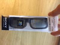 Sony 3D Glasses Brand New Boxed TDGBR250B RRP £59.99 4 Pairs Available
