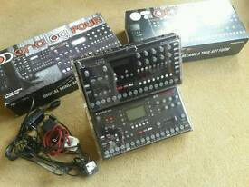 Elektron Octatrack plus Elektron Analog Four and stand lids and free shipping