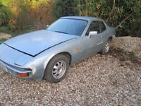 PORSCHE 924 B,REG 34,000 miles restoration project open to all swap's or sell.