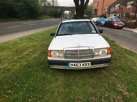 Mercedes 190e 12 month MOT