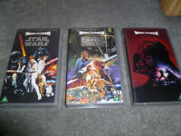 Star Wars Episodes IV, V & VI Special Widesceen Edition VHS Tapes