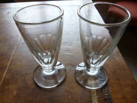 Pair of 19th century Rummer Glasses