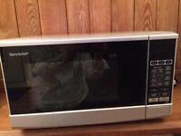 Sharp microwave silver 800W