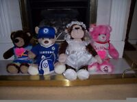 Various Dressed Build-a-Bears: 8