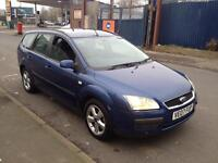 """FORD,FOCUS,ESTATE,TDCI,LX,1.8cc,114BHP,MANUAL,2007,BLUE"""