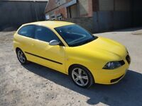 2006 SEAT IBIZA FR TDi 1896cc Turbo Diesel Manual 6 Speed 3 Door Hatchback