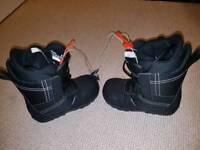 New Burton boots