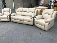 New** Katie 3+1+1 quality suite - reclining chairs - delivery available !!!