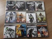 35 PS3 games, all in great condition apart from transformers. £40 for the lot or £2-£4 each