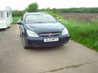 Citreon C 5 Estate car 2002, Blue
