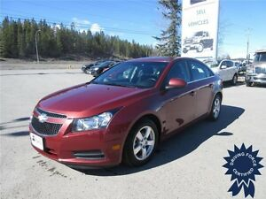 2012 Chevrolet Cruze LT Turbo 5 Passenger Sedan, 92,016 KMs
