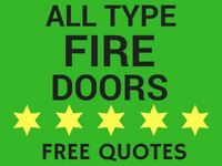 Fire Door Installation - All Type Fire Doors Supply & Fit - Fully Qualified | FREE Quotes