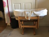 Mothercare baby Glider + Bassinet