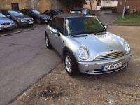 MINI ONE Convertible 1.6,Manual,Petrol, 58000 miles, £2495