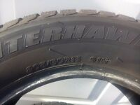Four winter tyres 205/60 R15 - very good condition