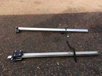 BIKE CARRIERS (PAIR - NOT THULE) FOR STANDARD ROOF RACKS ONLY £30.00!