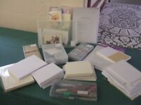 Card Making tools and stationery