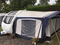 2013 Swift challenger sport 554 SR Touring caravan 4 berth for sale with awning