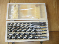 Woodwork Augers New in box