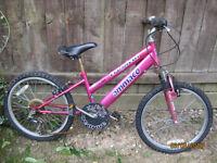 Ammaco girls pink bike