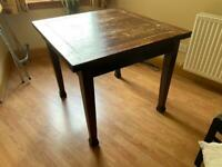 Vintage, extendable dining table