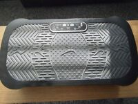 Black Vibration Plate with Remote Control