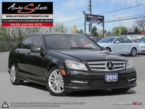 2011 Mercedes-Benz C-Class 4Matic C250 AWD ONLY 94K! **NOT A...