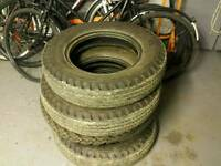 Car/tractor/military vehicle tyres