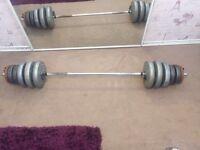 Weights & bar
