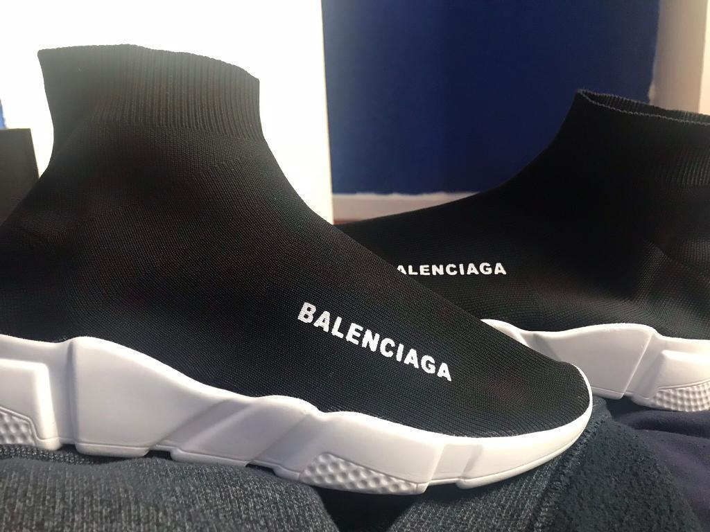 bd3f4d2eb1b7 Mens Balenciaga sock trainers