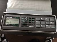 Boss DR220A 80s Drum Machine Synth Synthesizer Vintage Retro