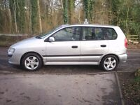 MITSUBISHI space star, 03 reg,TAX & MOT, S/HIS,new cam/belt,PAS,E/W,nice condition,inside & out.