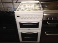 Belling Gas cooker (glass lid)