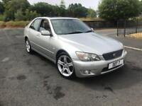 99 LEXUS IS200 2.0 SPORT FULLY LOADED YEARS MOT SPARES OR REPAIRS STARTS AND DRIVES GREAT
