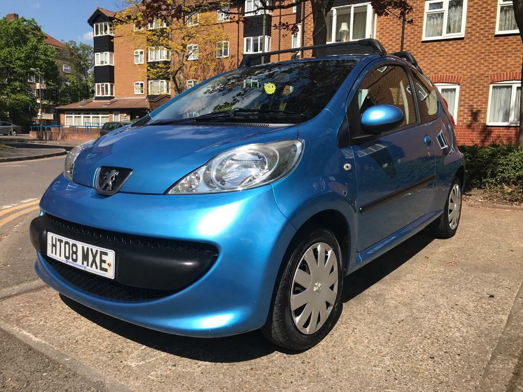 peugeot 107 blue urban move £20 tax long mot low mileage | in